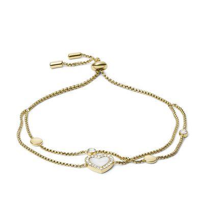 Bracelet Ld Vintage Glitz Gold
