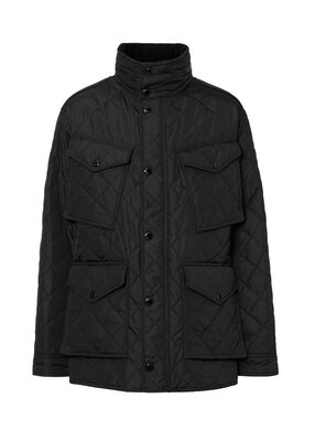 Packaway Hood Quilted Thermoregulated Field Jacket