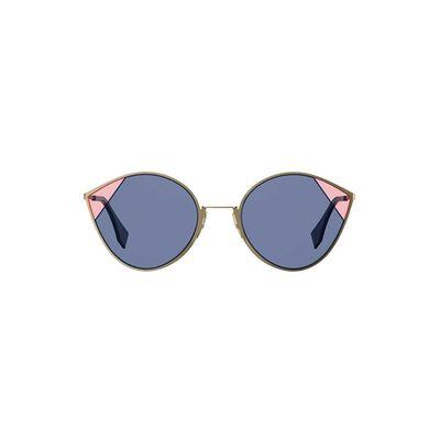 Sunglasses Women Ff 0341-S Gold Blue