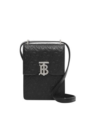 Monogram Leather Robin Bag