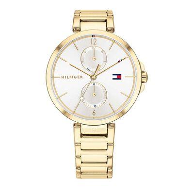 Ladies Angela Gold Bracelet Watch