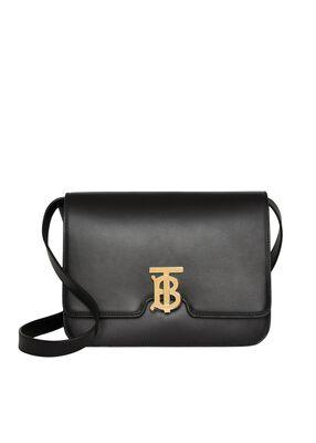 Medium Leather TB Bag