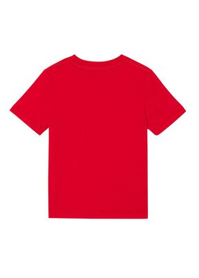 Logo Print Cotton T-shirt, , hi-res