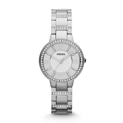 Ladies Virginia Silver Watch, , hi-res