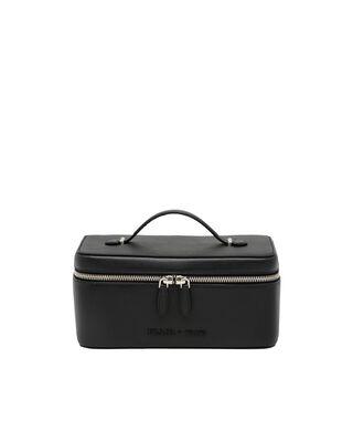 Medium Saffiano leather pouch