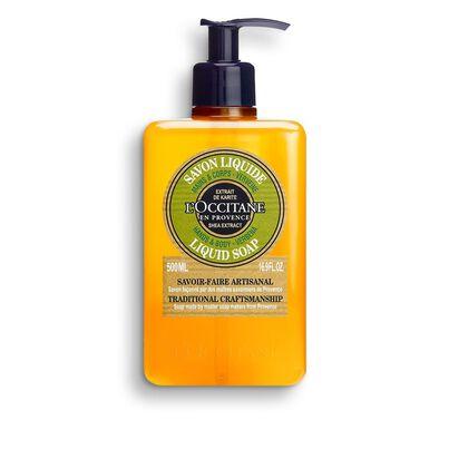 Shea Hands & Body Verbena Liquid Soap, , hi-res