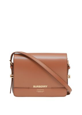 Small Two-tone Leather Grace Bag