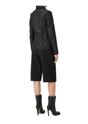 Diamond Quilted Thermoregulated Jacket, , hi-res