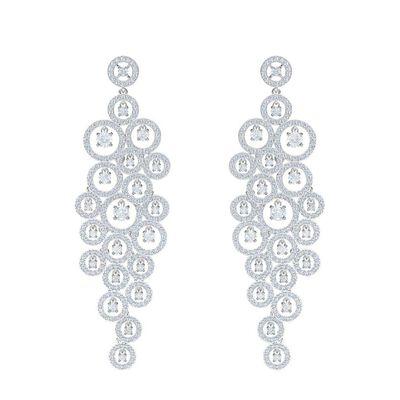 Creativity Chandelier Pierced Earrings