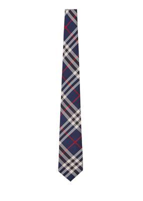 Classic Cut Vintage Check Silk Tie