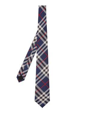 Classic Cut Vintage Check Silk Tie, , hi-res
