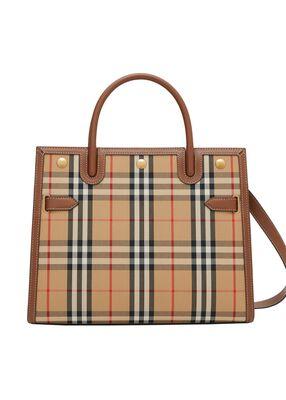 Medium Vintage Check Two-handle Title Bag