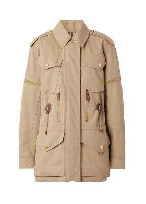Cotton Gabardine Field Jacket