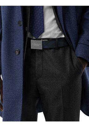 Reversible Plaque Buckle London Check Belt, , hi-res