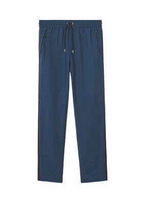 Monogram Motif Mohair Wool Jogging Pants