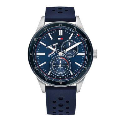 Mens Austin Navy Silicone Strip Watch 1791635