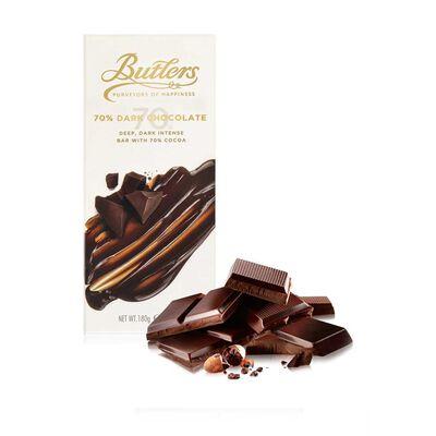 Large 70% Dark Chocolate Bar