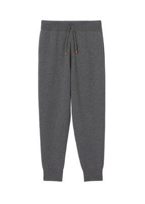 Monogram Motif Cashmere Blend Jogging Pants