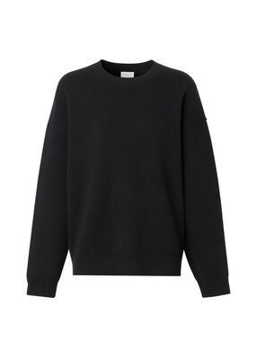 Monogram Motif Cashmere Blend Sweater