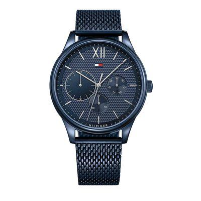 Mens Damon Blue Chronograph Watch Blue 1791421