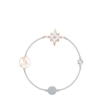 Remix Collection Star Strand Multi-Colored Mixed Metal Finish Bracelet 5511092