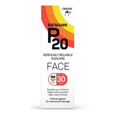 Riemann P20 Face Sun Cream SPF30, , hi-res