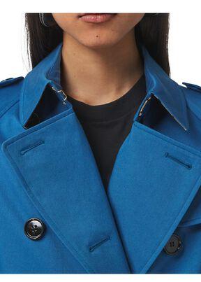 Cotton Gabardine Trench Coat, , hi-res