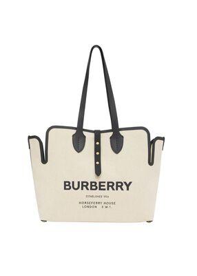 The Medium Soft Cotton Canvas Belt Bag