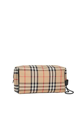 Vintage Check Travel Pouch, , hi-res