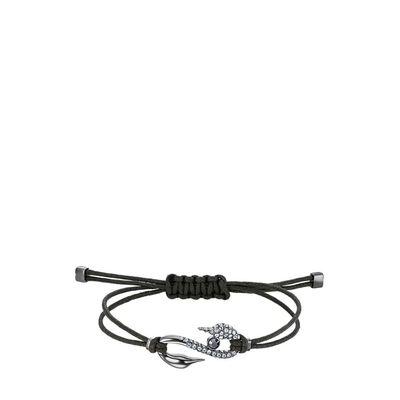 Power Collection Hook Bracelet Dark Gray Ruthenium Plated