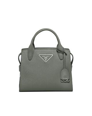 Medium Saffiano leather bag