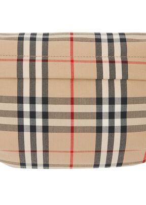 Medium Vintage Check Bonded Cotton Bum Bag, , hi-res