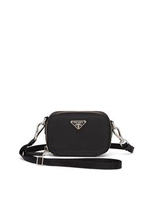Saffiano Leather Mini Pouch
