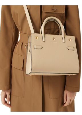 Mini Leather Two-handle Title Bag, , hi-res