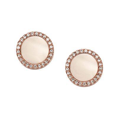 Ld Earrings Fashion Ste Rose Gold Acetate, , hi-res