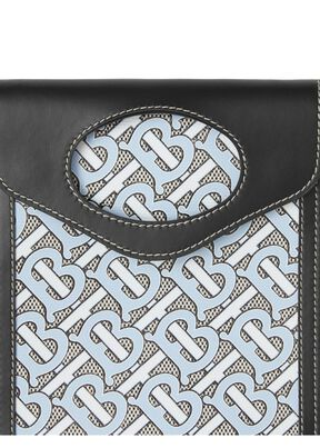 Monogram Canvas and Leather Pocket Phone Case, , hi-res