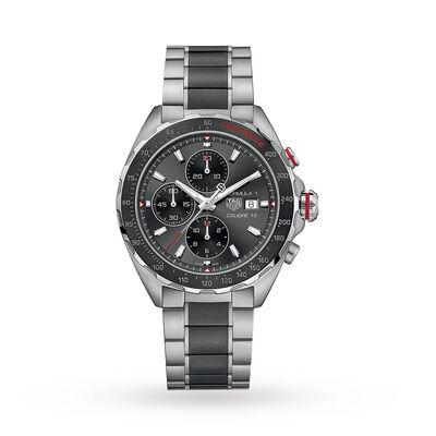Formula 1 Calibre 16 44mm Automatic Chronograph Mens Watch