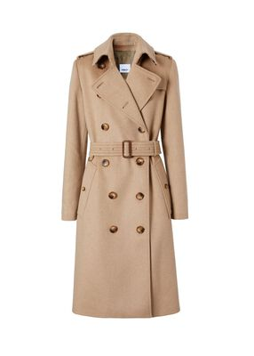 Regenerated Cashmere Trench Coat