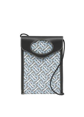 Monogram Canvas and Leather Pocket Phone Case