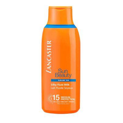 Sun Beauty Silky Fluid Milk SPF15, , hi-res