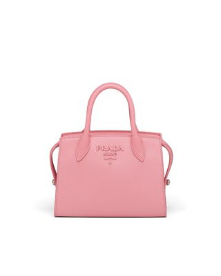 Saffiano Leather Prada Monochrome Bag