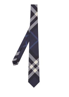 Classic Cut Check Silk Tie#, , hi-res