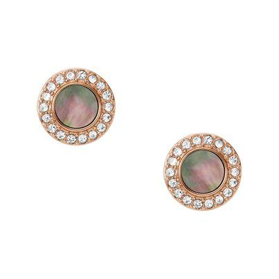 Earrings Ld Classics Rose Gold, , hi-res