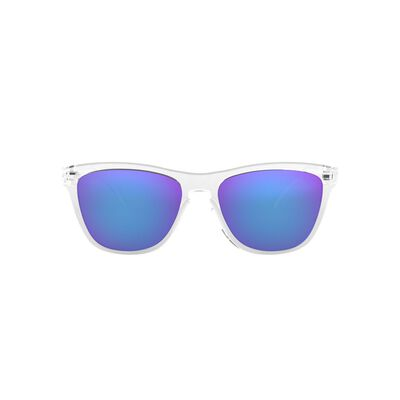 Men Sunglasses 0OO9013 Polished Clear Viot Irid Frogskins