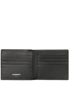 Icon Stripe Print Leather International Bifold Wallet, , hi-res