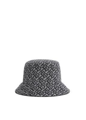 Monogram Wool Cashmere Jacquard Bucket Hat