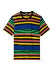 Men's Multi-Stripe Cotton T-Shirt, , hi-res