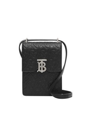 Monogram Leather Robin Bag