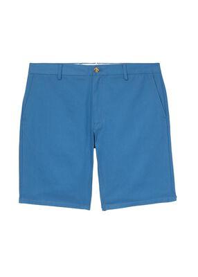 Logo Appliqué Cotton Twill Chino Shorts