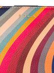 Women's 'Swirl' Print Small Leather Bucket Bag, , hi-res